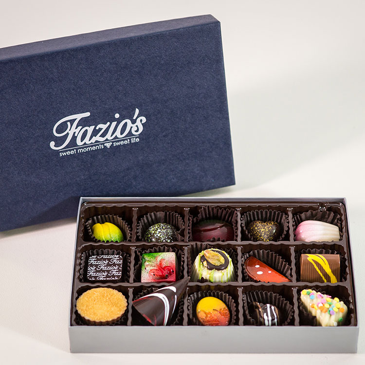 15-Piece Artisan chocolate box