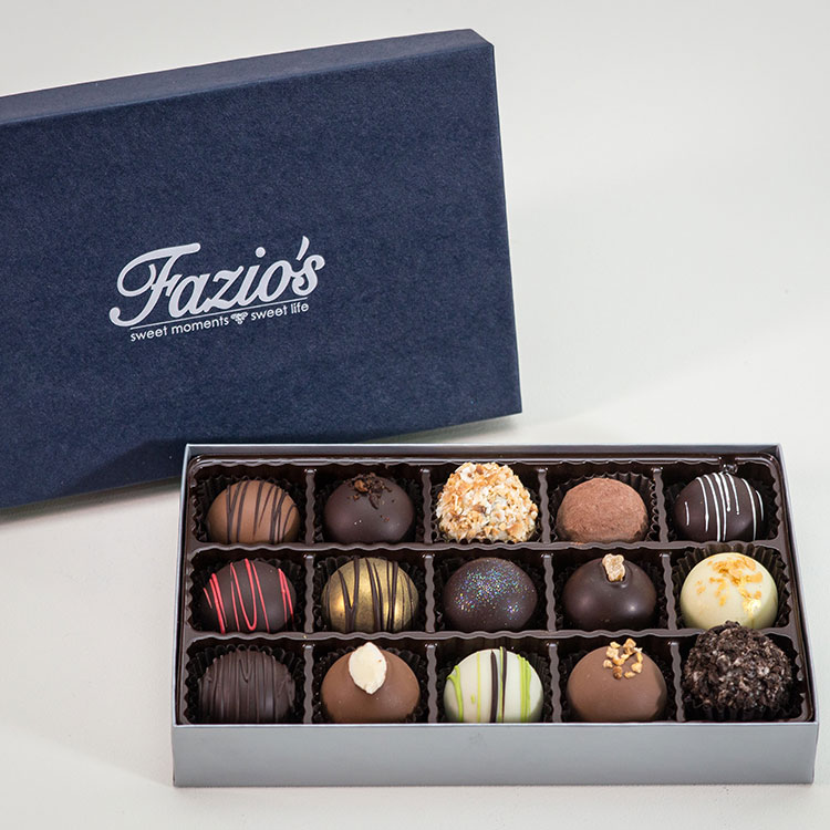 15-Piece Truffle Holiday assortment box