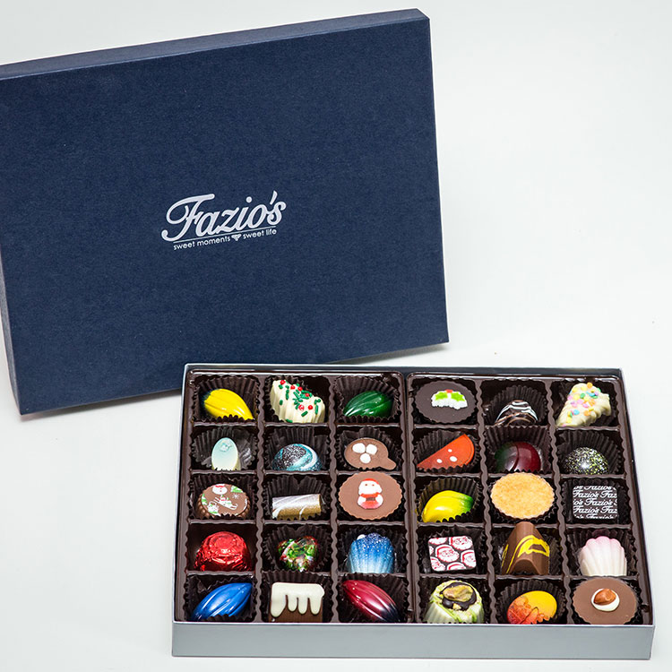 30 Piece Artisan chocolate box