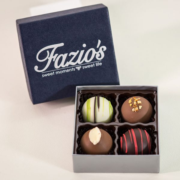 4 Piece Truffle assortment box