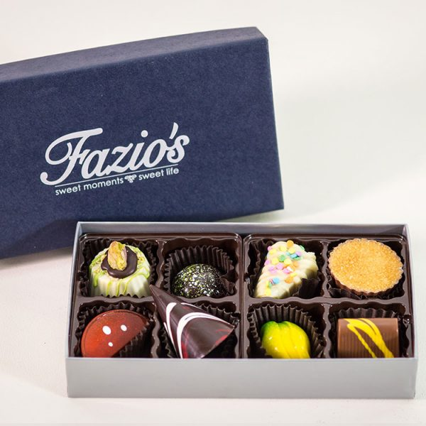 8-Piece Artisan chocolate assortment