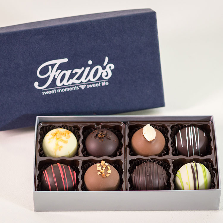8-Piece Truffle assortment box