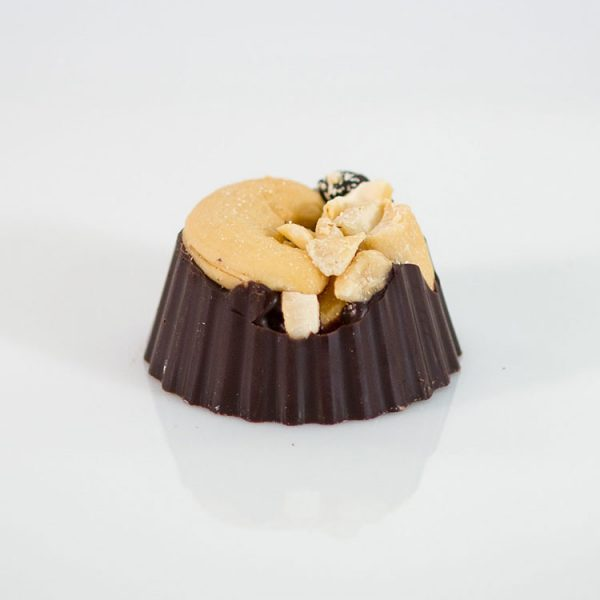dark chocolate Cashew Nut Cluster