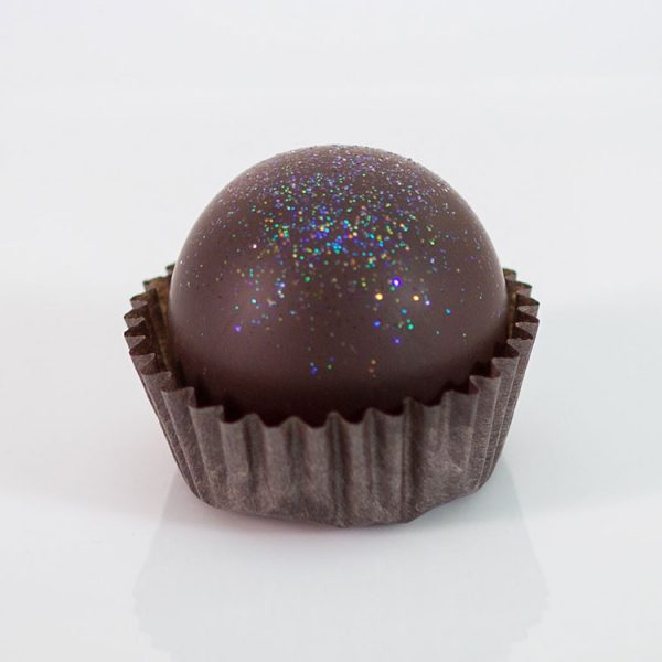 Frosted Peppermint Liqueur Truffle