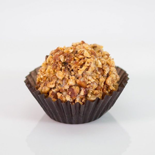 Maple Pecan Liqueur Truffle