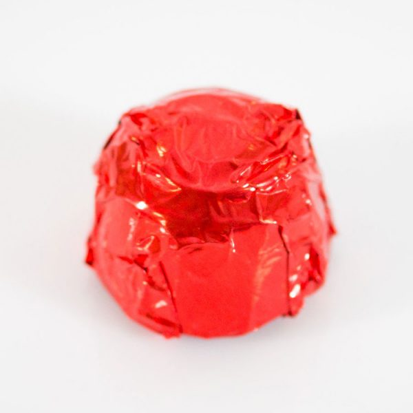 chocolate with red wrapper