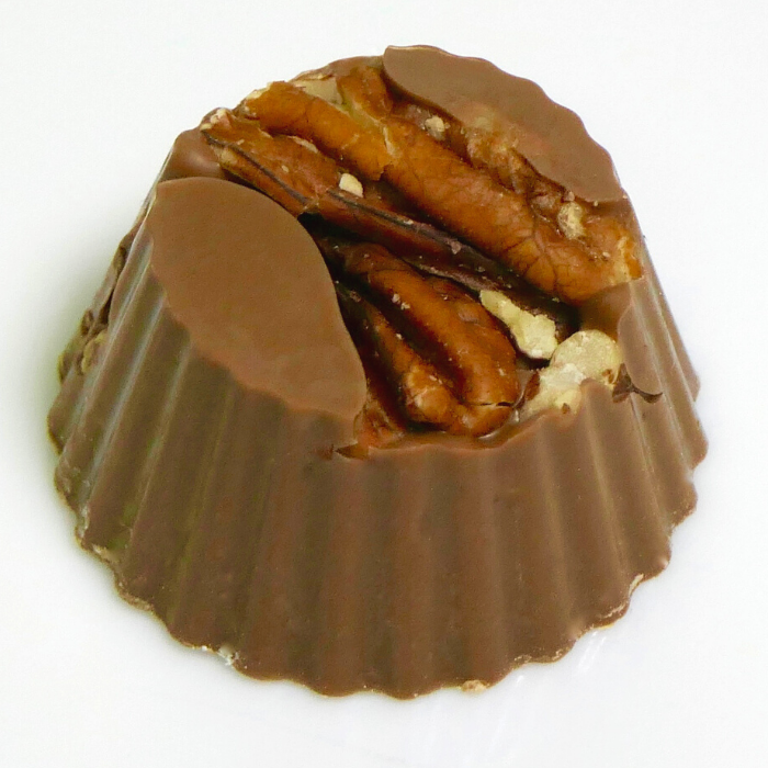Milk Chocolate Pecan Nut Cluster